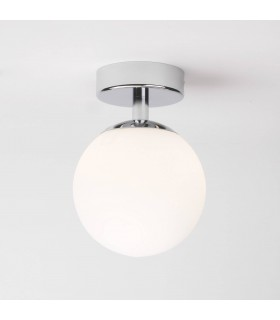 Denver Chrome Semi Flush Bathroom Ceiling Light - Astro Lighting 0323
