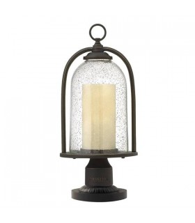 Quincy Outdoor Pedestal - Elstead Lighting HK/QUINCY3/M