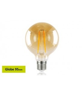 10 PACK - LED Sunset Vintage Globe 95mm 2.5W 1800K - Ultra Warm 170lm E27 Non-Dimmable Bulb