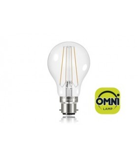 10 PACK - LED Classic Globe Omni-Bulb 6W 2700K (Warm) 806lm B22 Non-Dimmable