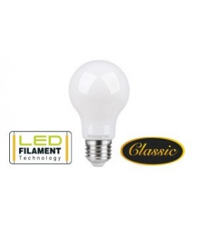 10 PACK - LED Classic Filament Globe Frosted E27 7W 2700K (Warm) 806lm Non-Dimmable