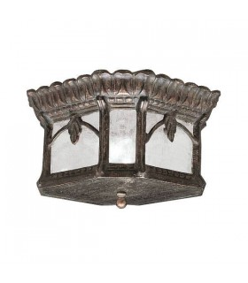 2 Light Flush Mount Outdoor Ceiling Light Londonderry IP44