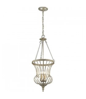 3 Light Medium Ceiling Pendant Gold