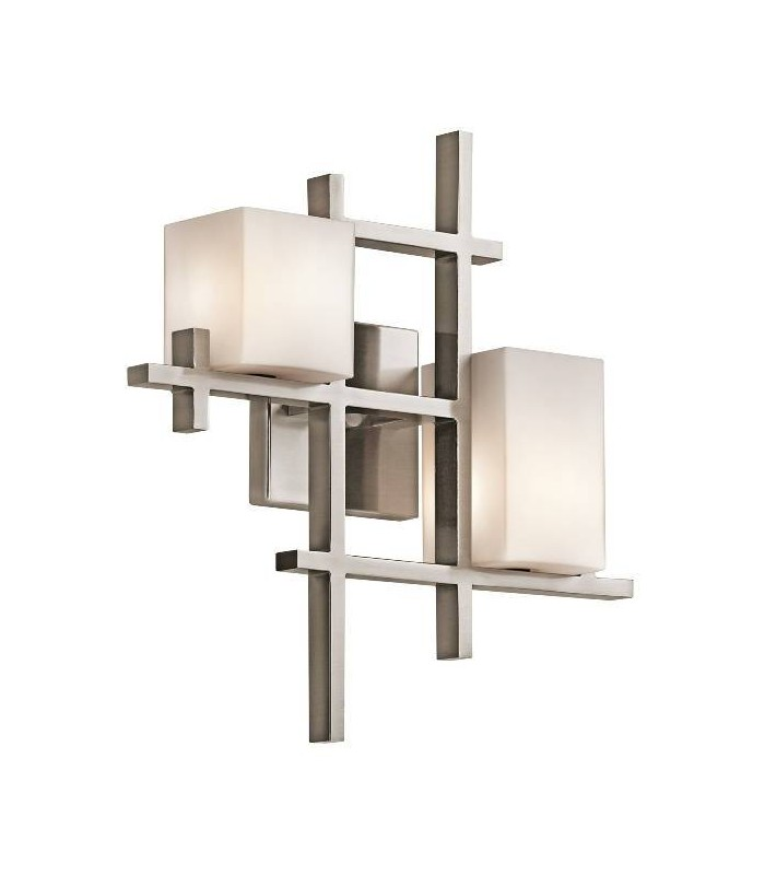 City Lights Two Light Wall Light - Elstead Lighting KL/CITY LIGHTS2
