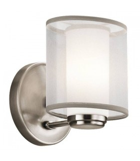 1 Light Wall Light Classic Pewter, G9