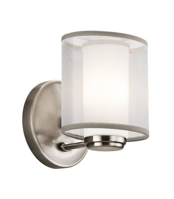 1 Light Indoor Wall Light Classic Pewter