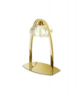 Table Lamp 1 Light G9, French Gold