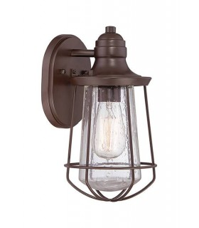 1 Light Ceiling Mini Pendant Western Bronze