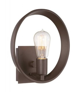 1 Light Indoor Wall Light Western Bronze, E27