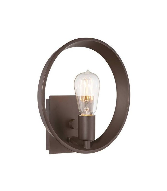 1 Light Indoor Wall Light Western Bronze