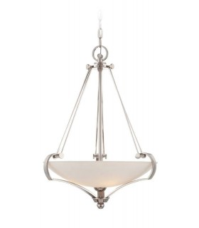 4 Light Ceiling Pendant Imperial Silver, E27