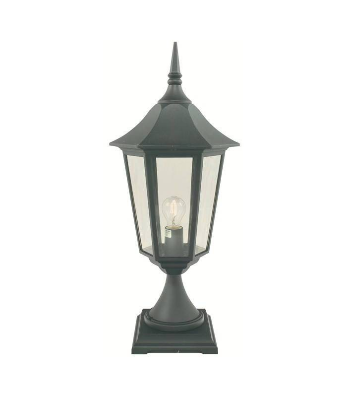 1 Light Outdoor Pedestal Lantern