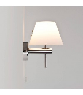 Roma Chrome Bathroom Wall Light Switched - Astro Lighting 0434