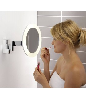 Round LED Bathroom Vanity Mirror Astro Lighting 0760