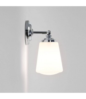 Chrome & Opal Bathroom Wall Downlight Astro Lighting 0507