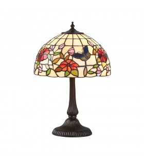 Butterfly Small Tiffany Style Table Lamp - Interiors 1900 63998