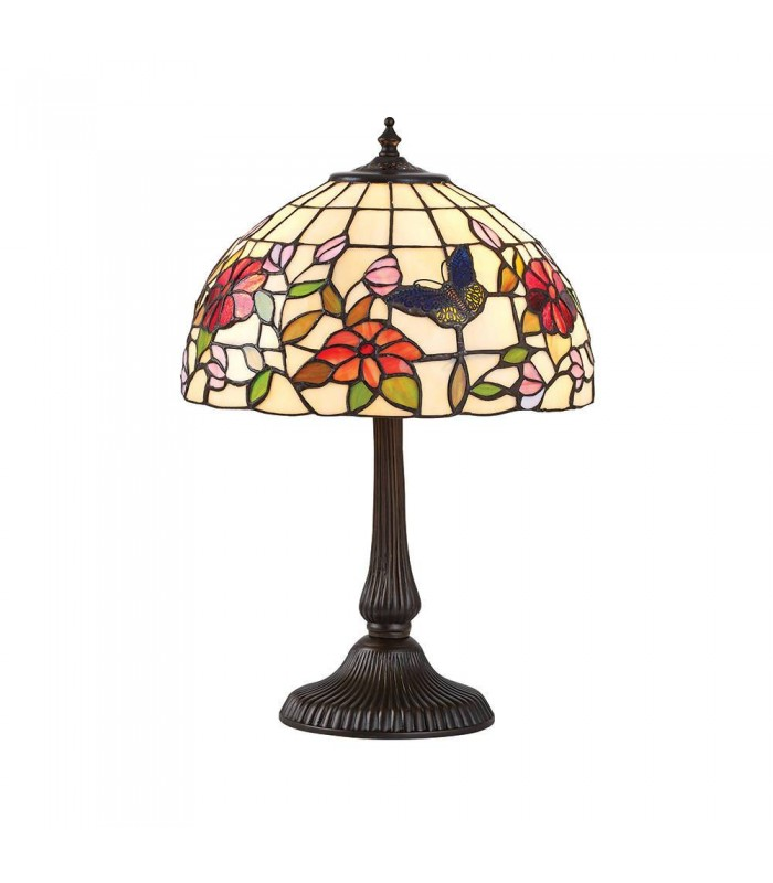 Butterfly Small Tiffany Style Table Lamp Interiors 1900