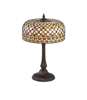 Mille Feux Medium Tiffany Style Table Lamp - Interiors 1900 64278