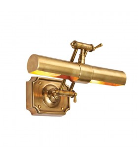 2 Light Picture Lamp Brass