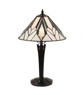Astoria Small Tiffany Style Table Lamp - Interiors 1900 70365