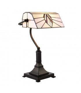 Astoria Tiffany Style Bankers Table Lamp - Interiors 1900 70909