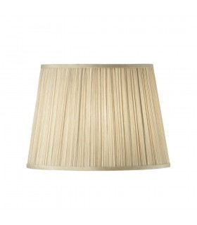 Beige And White American Fourteen Inch Shade