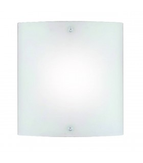 1 Light Indoor Wall Light Chrome with Frosted Glass