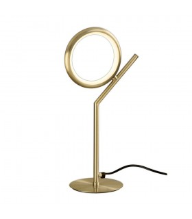 Table Lamp, 8W LED, 3000K, 600lm, IP20, Satin Gold