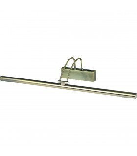 1 Light Adjustable Picture Wall Light Antique Brass