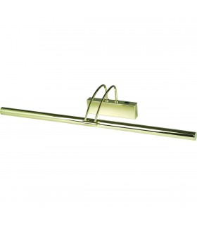 1 Light Adjustable Picture Wall Light Polished Brass