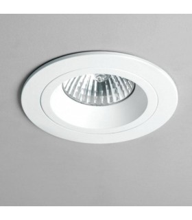 1 Light Recessed Spotlight White, GU10