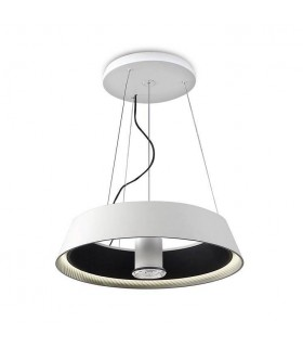 LED 1 Light Small Ceiling Pendant White, Black