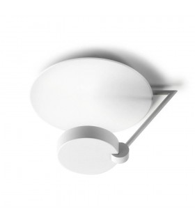 Ibis White Medium Two Tiered Ceiling Light - GROK IBIS C/37-BW