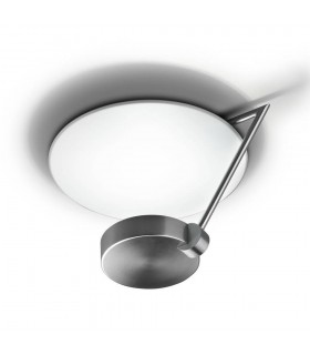 Ibis Satin Nickel Medium Two Tiered Ceiling Light - GROK IBIS C/37-81