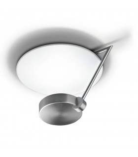 Ibis Satin Nickel Small Two Tiered Ceiling Light - GROK IBIS C/27-81