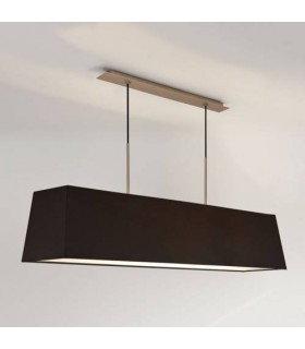 3 Light Ceiling Pendant Bar Matt Nickel, E27