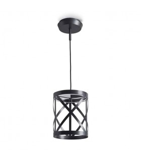 LED Wall / Ceiling Pendant Light Black