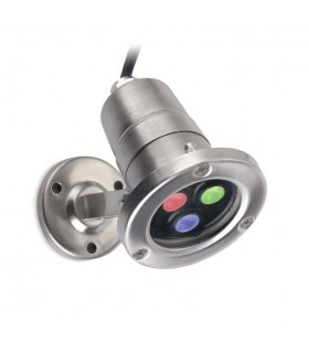 LED RGB Easy+ Waterproof Spotlight Stainless Steel IP68