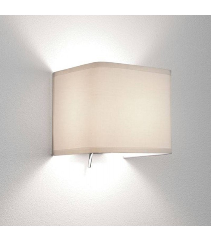 1 Light Indoor Wall Light Switched Fabric, E14