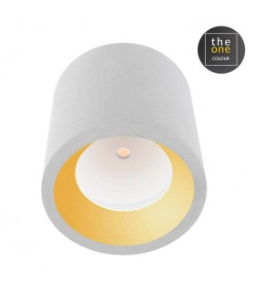 LED Small Outdoor Surface Mounted Spotlight White IP65