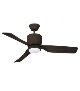 LED Copper Ceiling Fan Brown