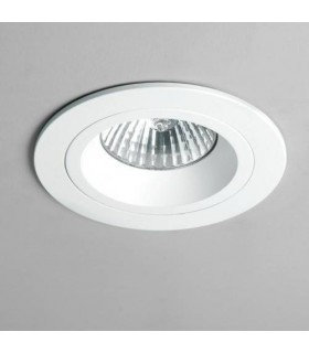 1 Light Recessed Spotlight White, Fire Rated, GU10
