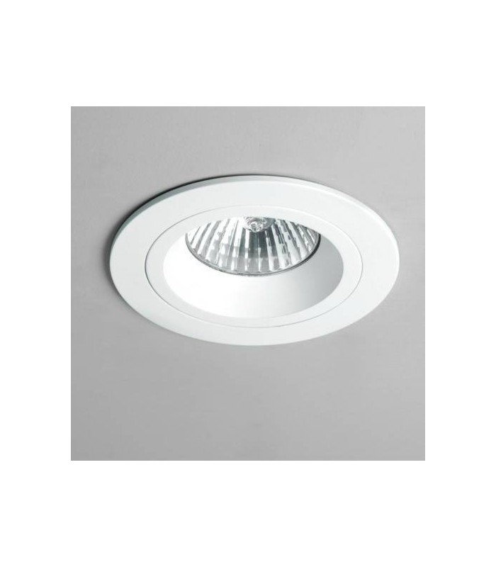1 Light Recessed Spotlight White, Fire Rated