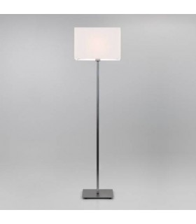 1 Light Floor Lamp Matt Nickel - Shade Not Included