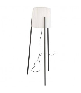 Barcino Urban Grey Adjustable Outdoor Floor Lamp With White Shade - LEDS C4 55-9880-Z5-M1