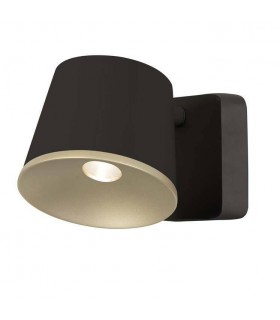 LED 1 Light Indoor Wall / Ceiling Light Brown, Gold