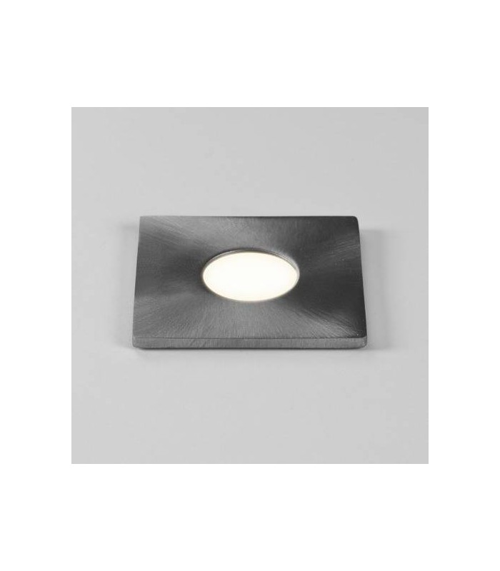 LED 1 Light Square Outdoor Ground Light Stainless Steel IP65