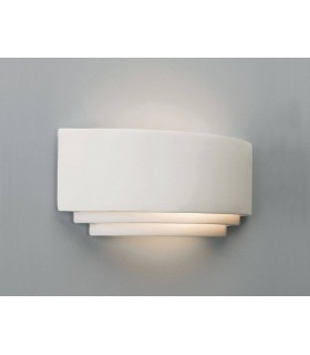 Amalfi Curved Ceramic Wall Uplighter - Astro Lighting 0423
