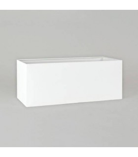 Twin White Rectangle Shade