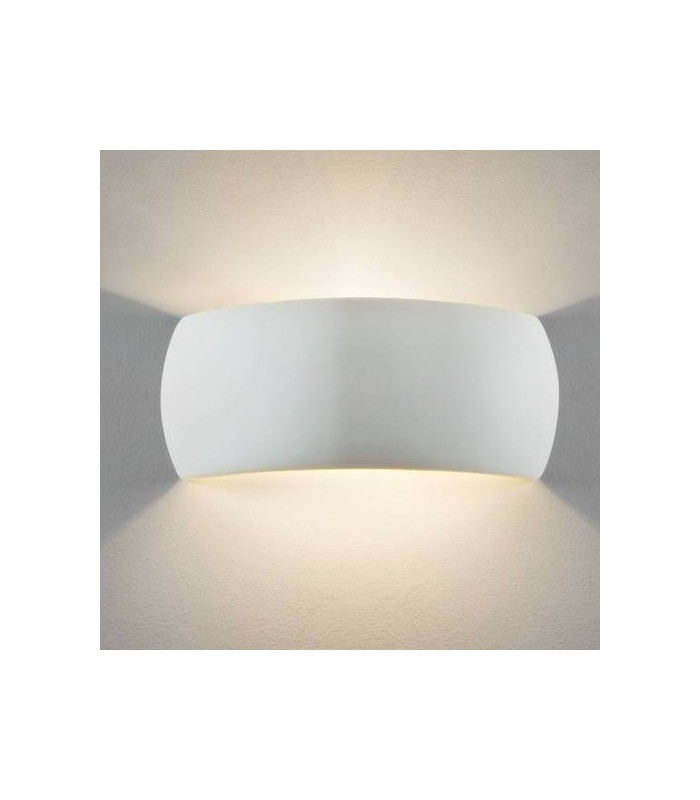 Milo White Ceramic Wall Light Fixture - Astro Lighting 7073
